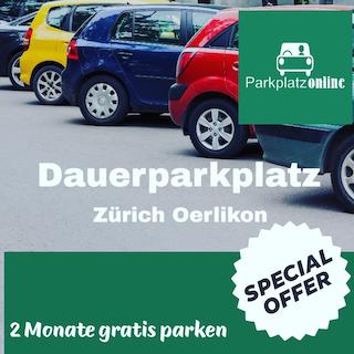 Dauerparking Zürich Oerlikon