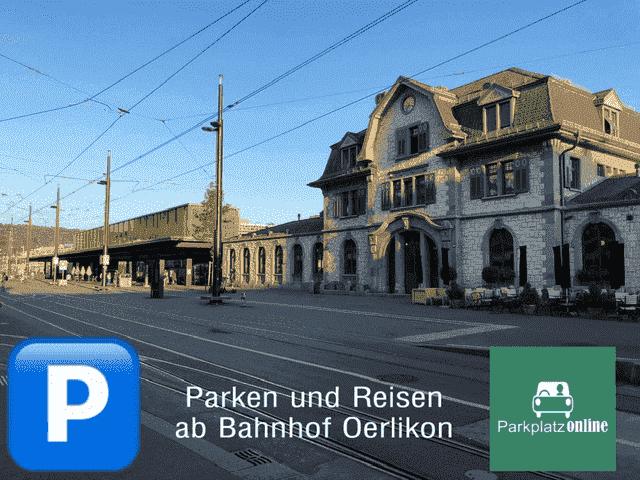Wo parkieren nahe Bahnhof Oerlikon