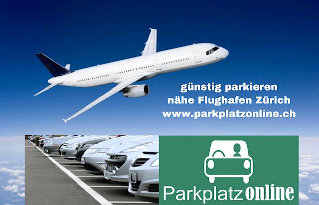 Günstig parkieren nähe Flughafen Zürich