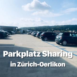 Parkplatz teilen und Geld sparen
